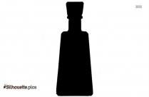School Child Water Bottle Silhouette
