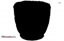 Terracotta Bowls Silhouette Art
