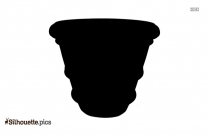 English Pottery Silhouette Image