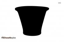 Terra Cotta Pottery Silhouette