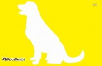 Dog Pet Animals Silhouette Clip Art