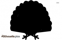 Thanksgiving Turkey Clipart Silhouette