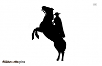 The Legend Of Zorro Silhouette Drawing