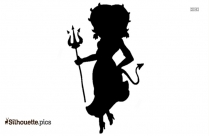 Witch Cauldron Clipart Silhouette