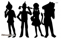 Black Scooby Doo Silhouette Image