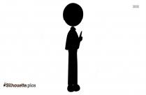 Thin Boy Clipart Silhouette