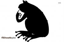 Tree Frog Clip Art Silhouette