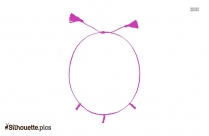 Thread Anklets Silhouette Drawing