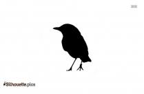 Sparrow Symbol Silhouette