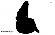Cinderella Cartoon Silhouette Illustration
