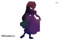 Princess Ariel Silhouette Art