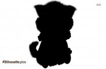 Free Lion Cub Silhouette