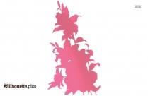 Lotus Flower Silhouette Image Free Download