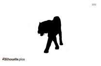 Standing Horse Silhouette Clip Art Vector