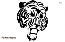 Tiger Tattoo Silhouette Image And Vector