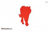 Gorilla Clip Art Silhouette