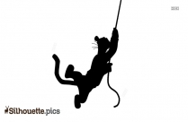 Tigger Disney Character Silhouette