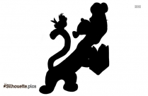 Tigger Disney Silhouette Vector And Graphics