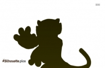 Cute Cartoon Turtle Clip Art Silhouette