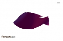 Tilapia Fish Silhouette Icon