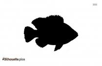 Jack Crevalle Silhouette Clip Art