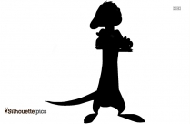 Timon Silhouette Vector And Graphics