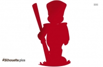 Cartoon Soldier Illustration Silhouette Image