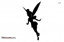 Baby Angel Silhouette Illustration