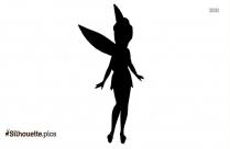 Little Angel Silhouette Drawing