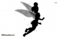 Tinkerbell Drawings Logo Silhouette For Download