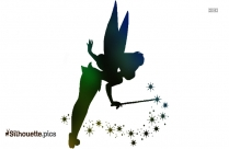 Christmas Fairy Clip Art Elves Silhouette