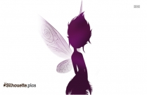 Tinkerbell Periwinkle Silhouette Icon