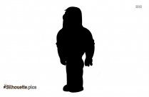 Cartoon Cheerleader Clipart Silhouette