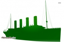 Sailing Ship Silhouette Picture