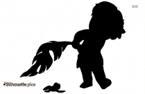 Moana ClipArt Silhouette Svg
