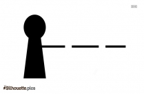 Tollgate Symbol Symbol Silhouette