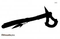 Tomahawk Vector Clipart Silhouette
