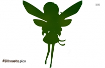 Tooth Fairy Silhouette Illustration