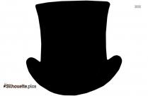 Homburg Hat Silhouette Clipart