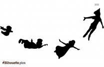 Top Peter Pan Characters Silhouette