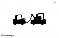 Cartoon Truck Drawing Silhouette Free Vector Art