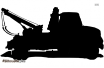 Towing Silhouette