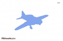 Toy Plane Silhouette Image And Vector