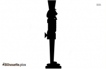 Toy Soldier Silhouette Image