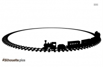 Toy Train Silhouette Image And Vector