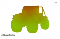 Army Jeep Silhouette