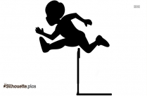 Track And Field Hurdles Silhouette