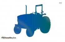 John Deere 6330 6030 Series Tractor Silhouette