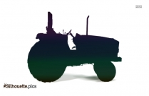 Tractor Silhouette Vector Free