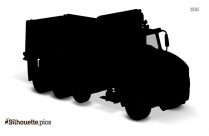 Tractor Vector Silhouette